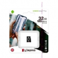 Карта памяти Micro SDHC 32 GB  Kingston  Canvas Select Plus 10