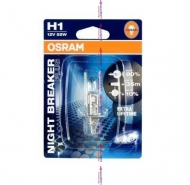 H1_ Авто лампа 55W OSRAM ресурс Night Breaker Plus1 шт.