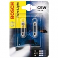 C5W Авто лампа 12 V 5W SV 8.5-8 PURE LIGHT BOSCH