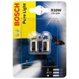 R10W Авто лампа 12 V  PURE LIGHT BOSCH
