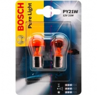 PY21W Авто лампа 12V PURE LIGHT BOSCH 1 шт.