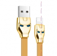 Кабель USB HOCO Apple  1.2 м, золотой